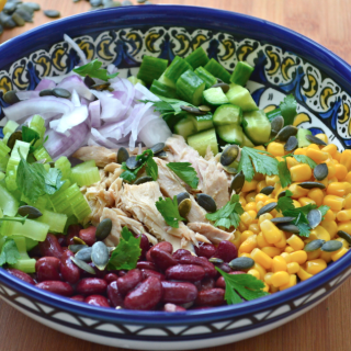 Tuna and Red Kidney Bean salad