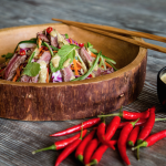Thai Beef Salad with Peanut Dressing