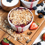 Mixed Berry and Granola Crumbles