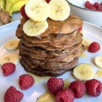 Guilt-Free Chocolate and Banana Pancakes
