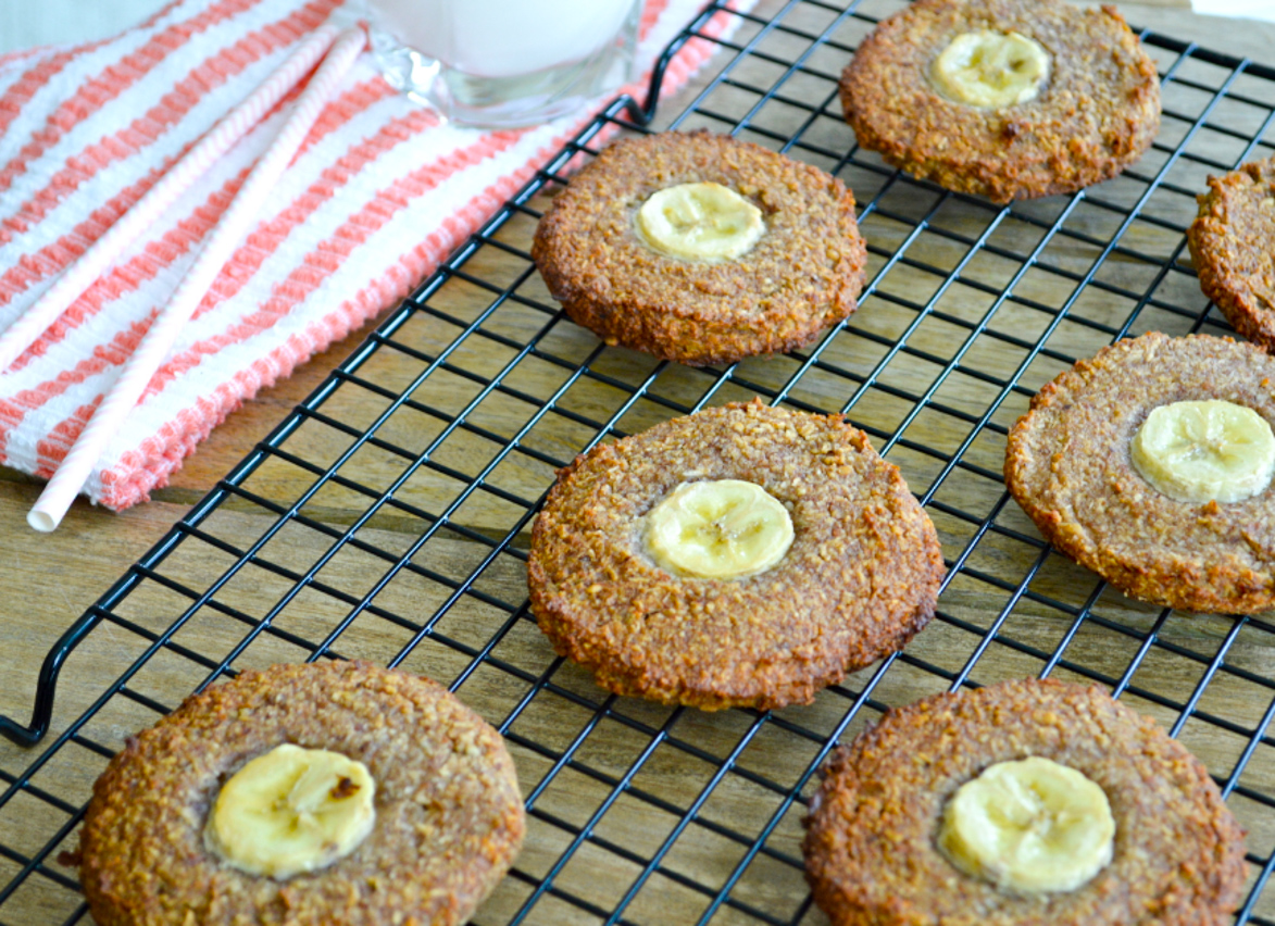 Coconut and Banana cookies