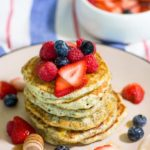 Greek Yoghurt, Lemon and Chia Seed Pancakes