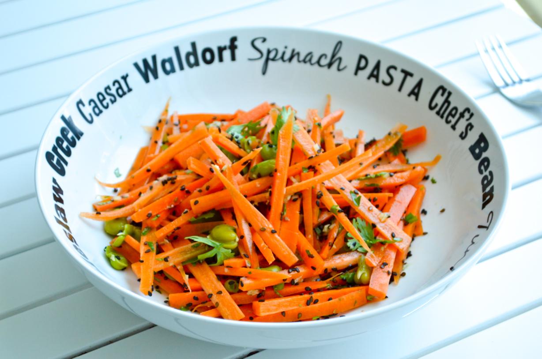 Raw Carrot Salad