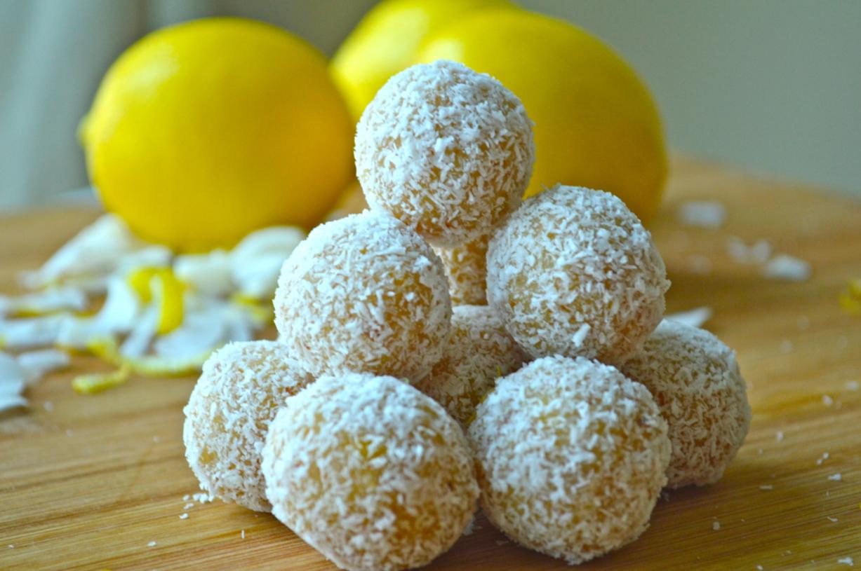 Lemon and Coconut Balls