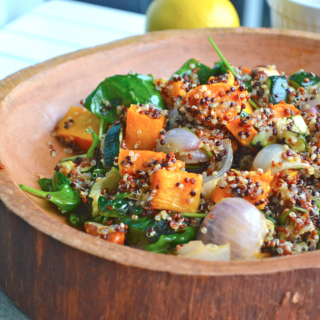 Truffle Roasted Veg & Quinoa Salad