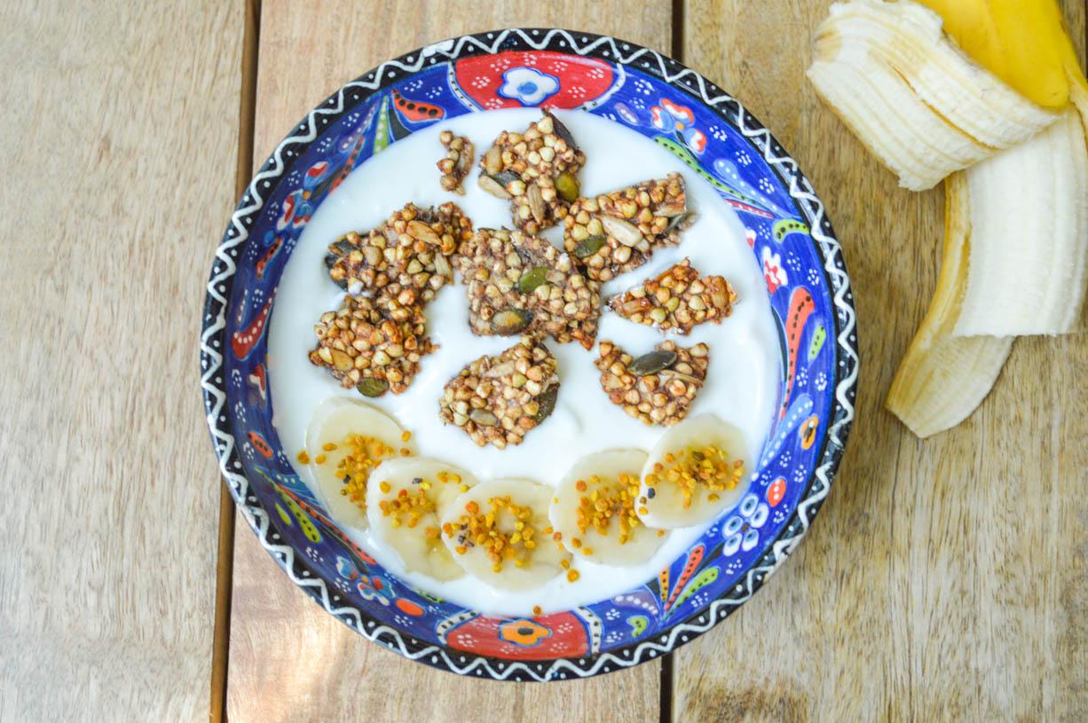 Gluten-free Buckwheat Clusters
