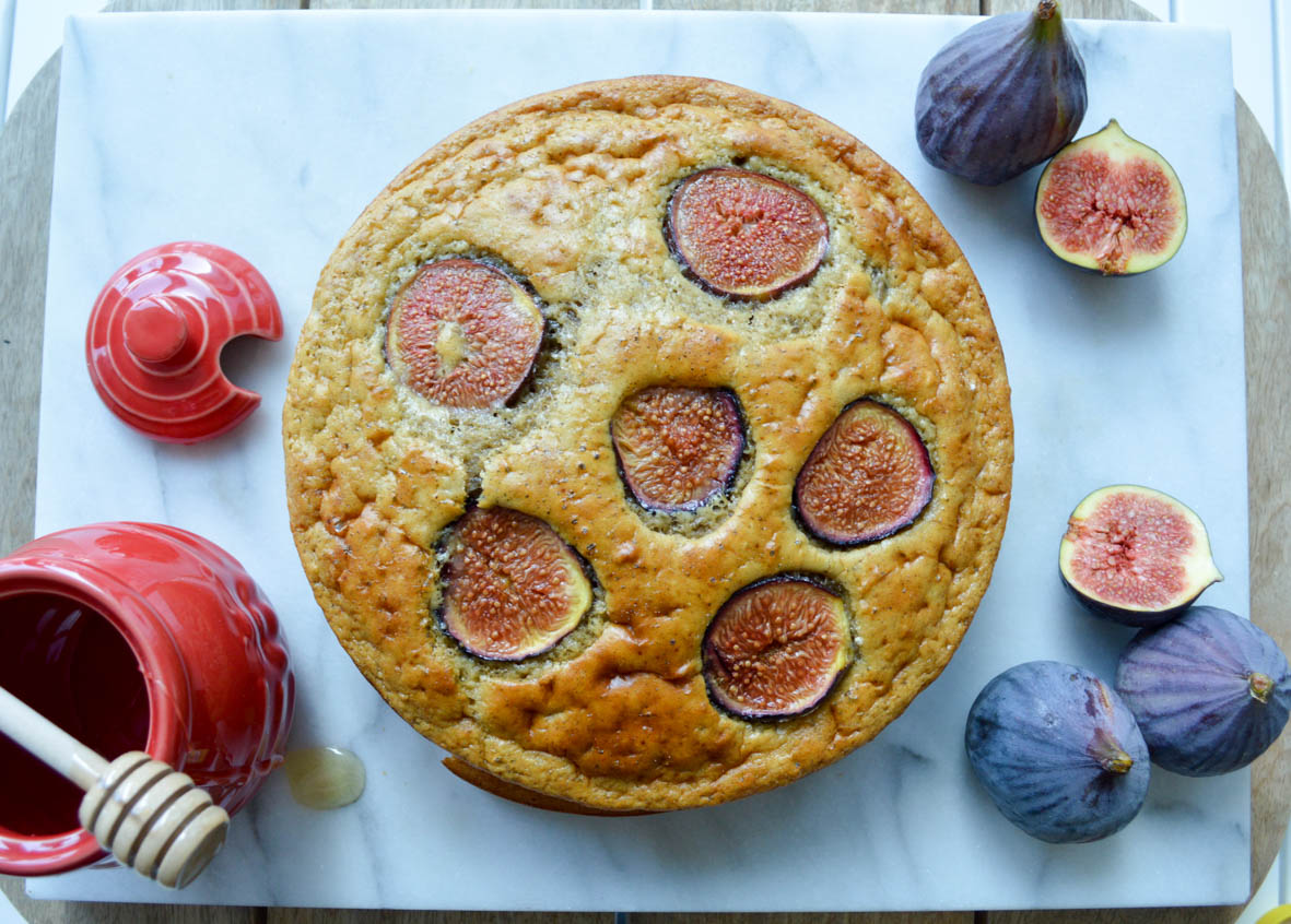 Fig and honey Cake