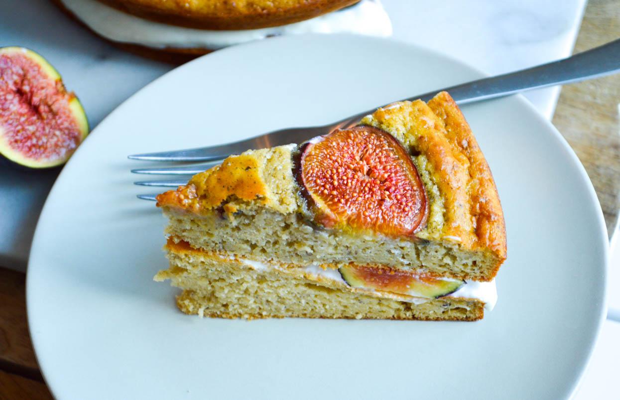 Fig and Honey Cake