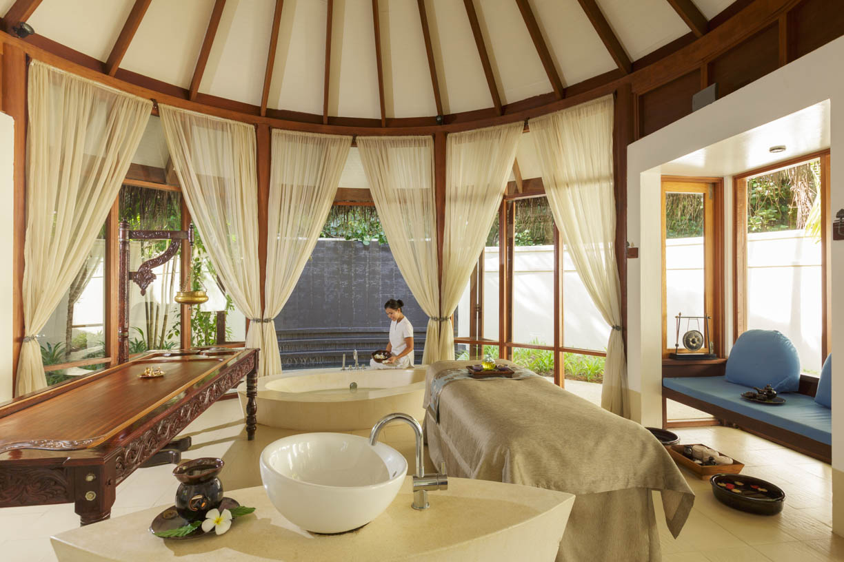 Sundari Ayurveda Treatment Room at Anantara Veli Resort & Spa