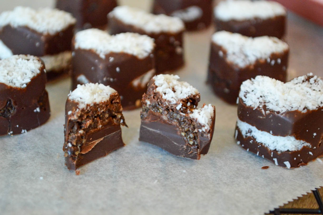 Chocolate Chia Seed Truffles