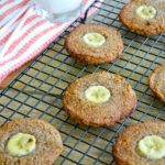 Chewy Banana and Coconut Cookies