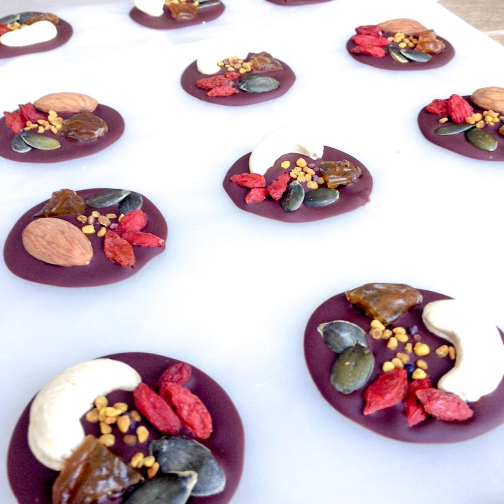 Superfood Chocolate Bites