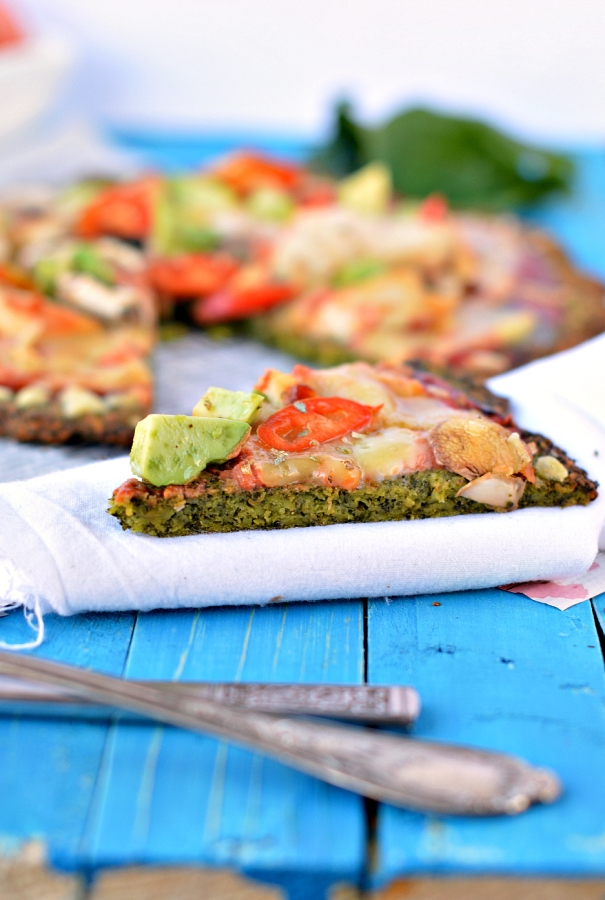 Kale crust Pizza