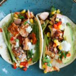 Healthy & Delicious Soy Grilled Salmon Tacos