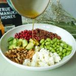 Wild Rice Salad with Honey Dressing