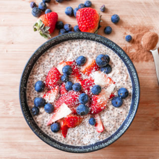 Overnight Chocolate Protein Oats