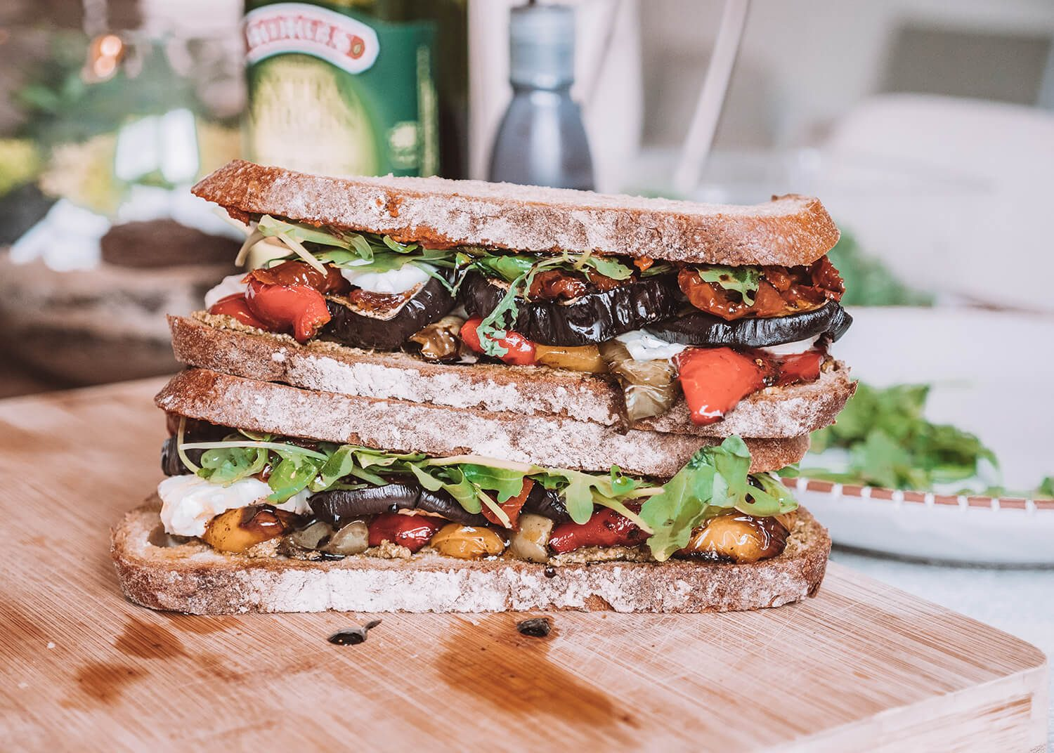 The Ultimate Roasted Veg Sandwich